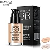 BIOAQUA Liquid Foundation Waterproof Cosmetics Concealer BB Cream Natural Color