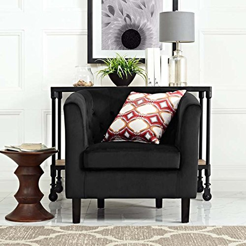 Modway Prospect Upholstered Velvet Contemporary Modern Accent Arm Chair
