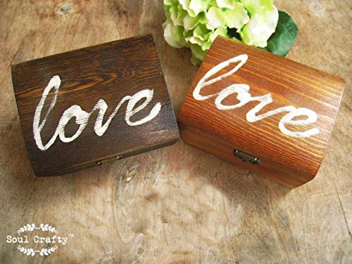 Artistic (TM - I Love You Gift of 15 Hearts with Beautiful Love Quotes Printed on Wooden Hearts, Unique Way to say I Love You, for Wife/Girl Friend/Husband/Boy Friend