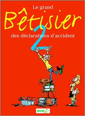 En ligne téléchargement Le Grand Bêtisier des déclarations d'accident, tome 2 pdf, epub ebook