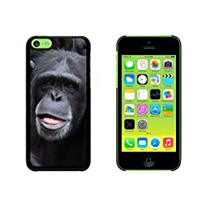 Chimpanzee Chimp - Ape Monkey Snap On Hard Protective For Iphone 5C Phone Case Cover - Black