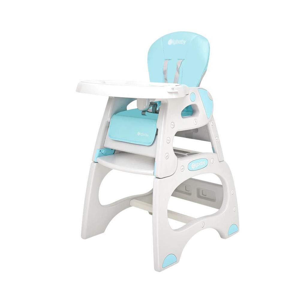 安全ベルトと調節可能な赤ん坊のハイチェアの研究テーブルの椅子   B07T4FQYK8
