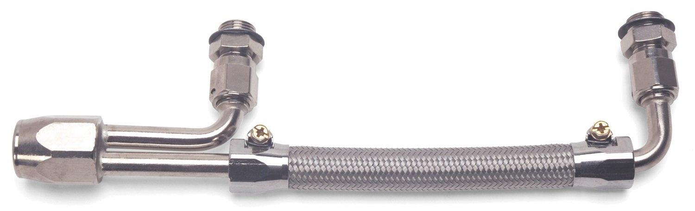 Edelbrock 8091 Braided Stainless Steel Fuel Line Kit