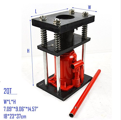 Manual 20t - Manual Benchtop Hydraulic Bottle Jack Hose Crimper Hydraulic Hose Crimper 20T