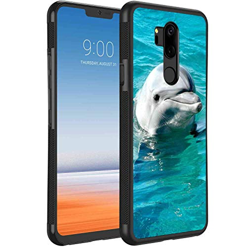 Baby Dolphins Cell Phone Case Fit for LG G7 ThinQ (2018) [6.1 Version]
