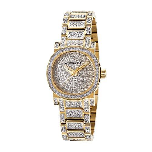 Wittnauer Women's WN4004XG Quartz Silver Dial Gold Watch (Certified Refurbished) (Silver Wrist Wittnauer Watch)