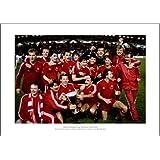 Aberdeen FC 1983 European Cup Winners Cup Team Picture Memorabilia