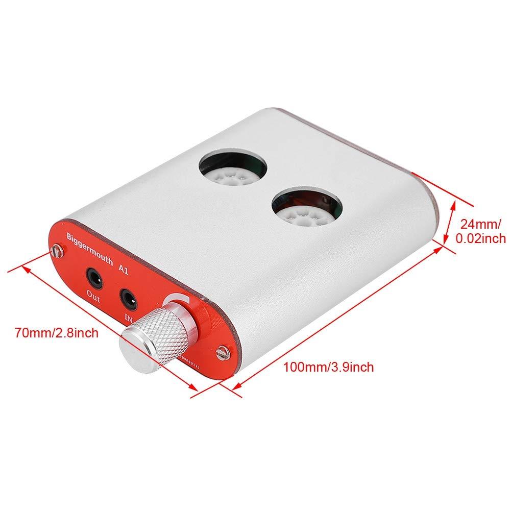 60HZ Portable Stereo Preamp US Plug Mugast AC100V 240V 50HZ 3.5mm A1 Class A Headphone Amplifier Active Speaker for Smartphones//Computer//Tablet//PC and More Via 3.5mm Jack