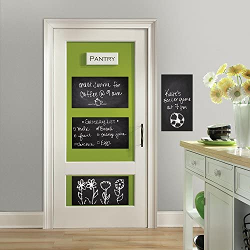 RoomMates RMK3316SLG Chalkboard Stick Decals