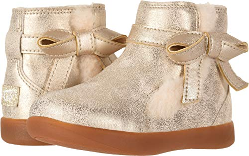 UGG Girls' T Libbie Metallic Fashion Boot, Gold,