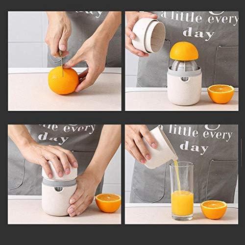 Exprimidor de limones manual de naranja, cítrico, sandía, exprimidor, multifunción, positivo y negativo, doble uso, manual para uso doméstico