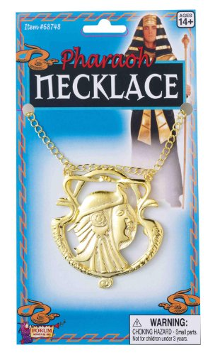 Halloween Costumes 1 Year Old Uk (Egyptian Man Gold Necklace)