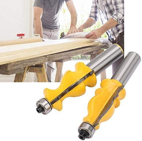 Drill Bit Sets 1/2 inch Shank Fishtail Handrail + Fish Type Handrail Router Bit Woodworking Milling Cutter Tool Milling Cutter