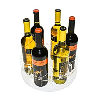 Source One Deluxe Wine Bottle Lazy Susan 2