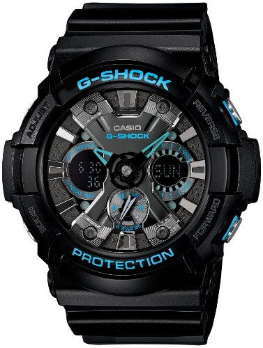 CASIO G SHOCK BLACK GA 201BA 1AJF WRISTWATCH