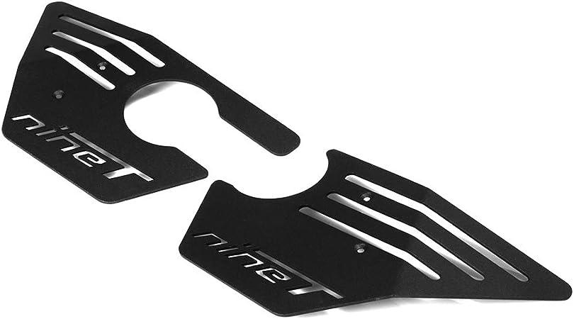 Oldbones 1 Paia Nero Moto Airbox Copertura di protezione laterale Griglia copertura Per BMW R NINE T nine t R9T R 9T stile 1