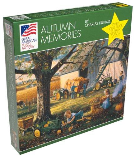 Autumn Memories 1000-Piece Puzzle