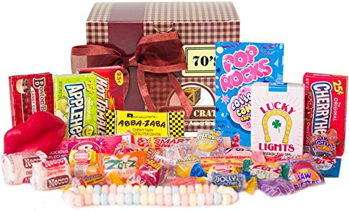 New Candy Crate Old Fashioned Sweets Decade Gift Box (Giant Old Fashioned)