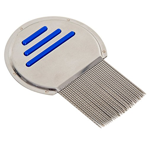 MoYo Terminator Nit and Lice Comb Best Results for All Hair Types Professional Original #1 Rated At Home Remedy for Kids and Adults - Non-Toxic