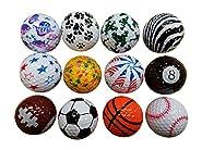 BZANY Father's Day Fun Golf Balls (1 Dozen)