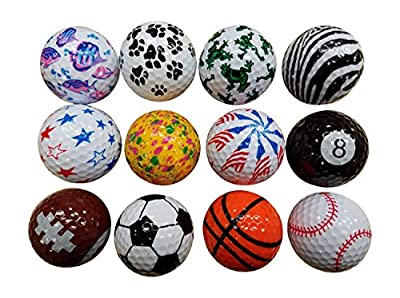 BZANY® Father's Day Fun Golf Balls (1 Dozen)