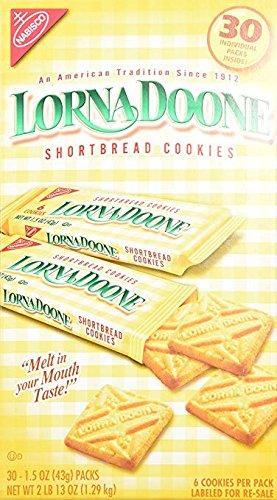 Lorna Doone-Shortbread Cookies, 30 Count (4 Packs) by Lorna Doone
