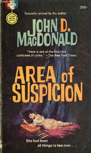 Area Suspicion JOHN D MACDONALD product image