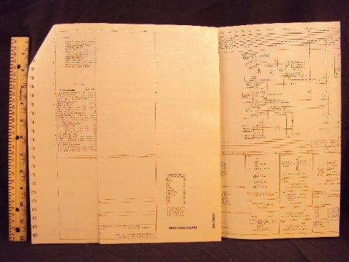 1981 81 ford mustang & mercury capri electrical wiring diagrams manual  ~original loose leaf – january 1, 1981