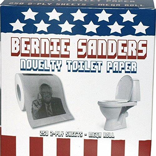 Bernie Sanders Novelty Toilet Paper w/ Gift Box free shipping ...