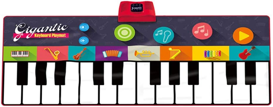 Byjia Niños Piano Teclado Música Jugar Mat Dance Party Juegos ...