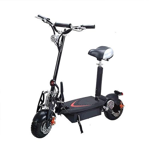 Patinete Electrico Adulto Scooter Plegable Todoterreno de ...