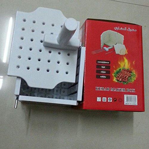 Newbie 36 Holes Skewers Kebab Box Barbecue's Good Helper Kebab Maker Box