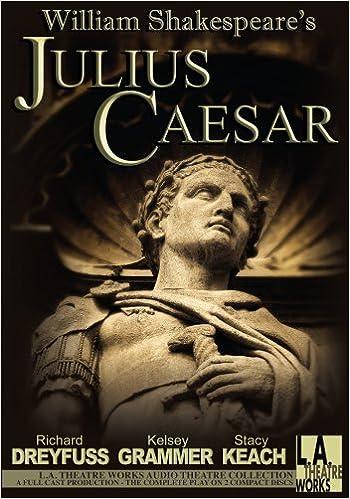julius caesar library edition audio cds