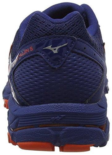 Zapatillas silver 03 Hombre Mujin Mizuno Rojo Para 5 Wave Blue cherrytomato estate Zxq486