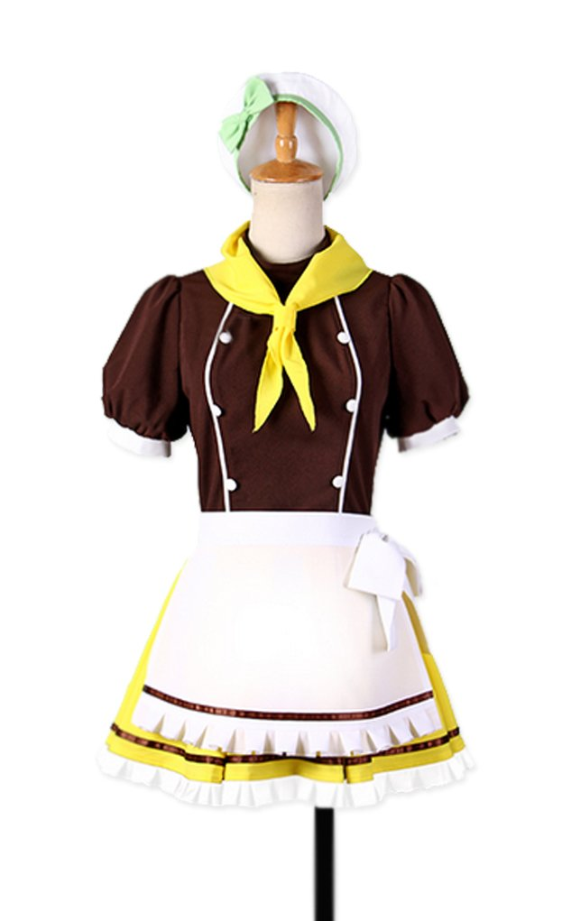 Dreamcosplay Animation Love live Koizumi Hanayo Cake Maid Outfits Cosplay