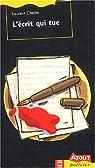 L'écrit qui tue par Chabin