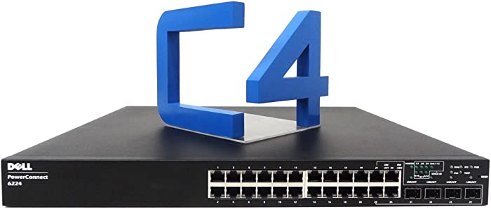 Dell PowerConnect 6224 Gigabit Ethernet Switch - 24 Ports - 4 SFP