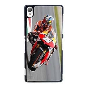 Personalized Durable Cases Sony Xperia Z3 Cell Phone Case Black Dani Pedrosa Honda Repsol Team MotoGP Kddld Protection Cover