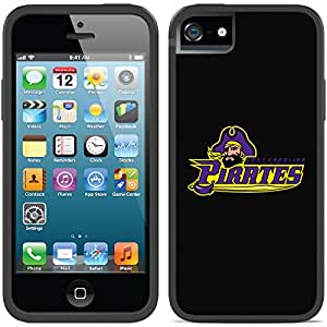 Coveroo iPhone 5/5S Black Switchback Case with East Carolina Primary Mark Design
