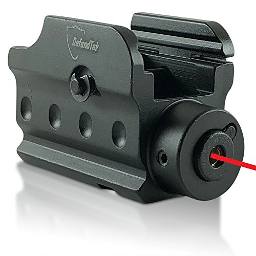 DefendTek PROMO PRICE Precision Red Laser Sight With Standard & Remote Pressure Switch For Picatinny Rail, Pistols, Rifles