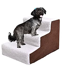 Amazon.com : JAXPETY Animals Favorite Pet Stairs, 3 Steps