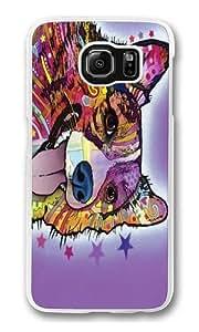 Corgi Front Custom Samsung Galaxy S6/Samsung S6 Case Cover Polycarbonate Transparent Kimberly Kurzendoerfer