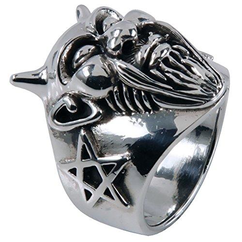 Fu Manchu Devil & Pentagrams Silver ()