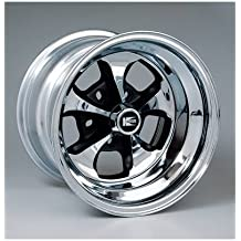 Cragar 325199: Wheel, Keystone Klassic, Steel, Chrome, 15 in. x 10 in., 5 x 4.5/5 in. Bolt Circle, 4.125 in. Backspace, Each