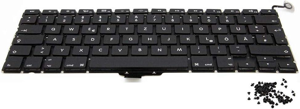 """MMOBIEL Repuesto de Teclado QWERTZ Compatible con MacBook Pro A1278 13"""" 2008-2012"""