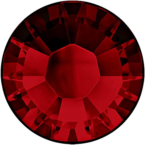 Swarovski 2028 Foiled Flatbacks SS9 Ruby No Hotfix Rhinestones, Choose Quantity (720) ()