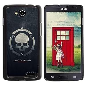 Be Good Phone Accessory // Dura Cáscara cubierta Protectora Caso Carcasa Funda de Protección para LG OPTIMUS L90 / D415 // Dead De Sound DDS