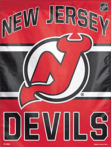 "NHL New Jersey Devils Vertical Flag, 27"" x 37"""