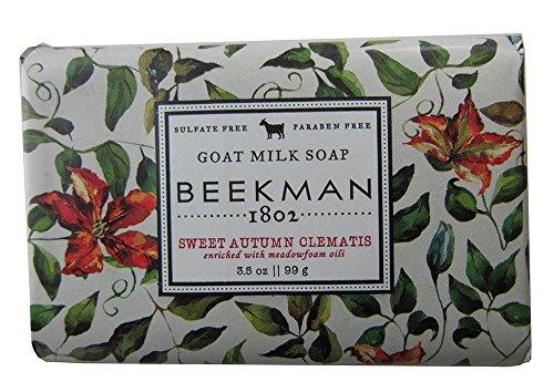 Beekman 1802 Goat Milk Soap 3.5 oz. (Sweet Autumn Clematis)