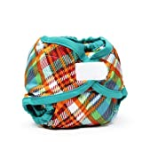 Rumparooz Newborn Quinn Plaid Aplix Cloth Diaper Cover by Rumparooz